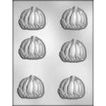 Pumpkin w/Leaves Chocolate Mold