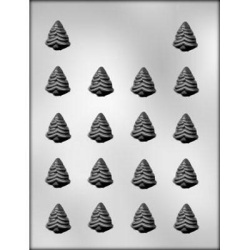 "Evergreen Tree Chocolate Mold - 1-1/8"" LARGE"