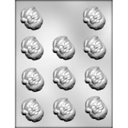 Santa Face Chocolate Mold LARGE