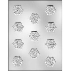 Celtic Knot Snowflake Chocolate Mold LARGE