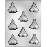 Christmas Tree Chocolate Mold - 2""