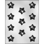 Puffy Star Chocolate Mold - 1 1/4""