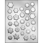 Snowflake Assortment Chocolate Mold THUMBNAIL
