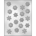 Snowflake Chocolate Mold - 1-1/4""