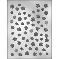 Mini Snowflakes Chocolate Mold LARGE