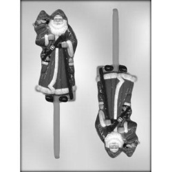 "Santa Chocolate Sucker Mold - 5-1/4"" LARGE"