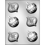 Ornaments Chocolate Mold - 2-3/4""
