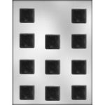 "Square Chocolate Mint Mold - 1-1/4"" THUMBNAIL"