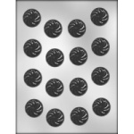 "Swirled Chocolate Mint Mold - 1 1/4"" THUMBNAIL"