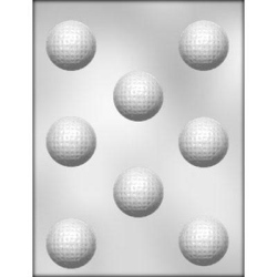 "Golf Ball Chocolate Mold - 1-5/8"" LARGE"