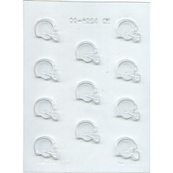 Football Helmet Chocolate Mold - 1-1/2""