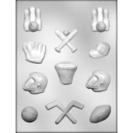Sports Assortment Chocolate Mold