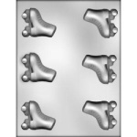 "Roller Skates Chocolate Mold - 2-3/8"" THUMBNAIL"