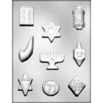 Jewish Symbols Chocolate Mold
