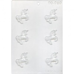 Unicorn Chocolate Mold - Mini LARGE