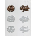 Skulls & Ghosts Chocolate Mold