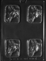 Horsehead Bar Chocolate Mold