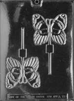 Butterfly Chocolate Sucker Mold