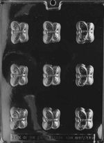 Butterfly Chocolate Mold - Fillable