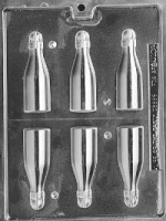 Small Bottles Chocolate Mold