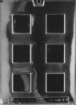 Squares Chocolate Mold