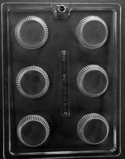 Peanut Butter Cup Chocolate Mold - Extra Large LARGE