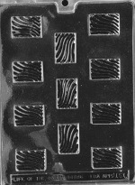 Toffee Pieces Chocolate Mold