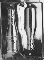 Champagne Bottle Chocolate Mold - Large