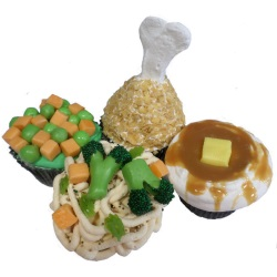 TV Dinner Cupcakes for Kids - TBA LARGE