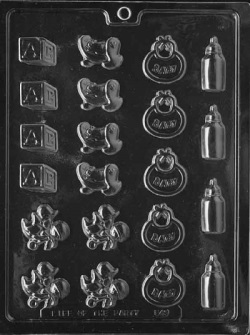 Baby Decos Chocolate Mold