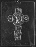 Christening Cross Chocolate Mold
