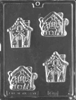 Gingerbread House Chocolate Mold THUMBNAIL