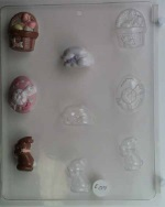 Mixed Small Easter Mints Chocolate Mold THUMBNAIL