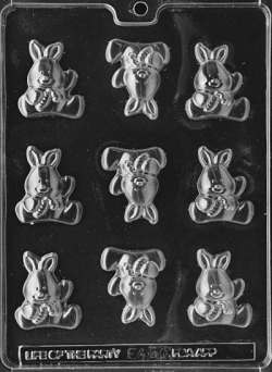 Baby Bunny Chocolate Mold LARGE