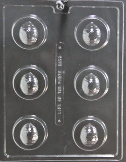 Easter Egg Cookie Chocolate Mold LARGE