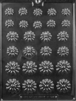 Daisy Assortment Chocolate Mold LARGE