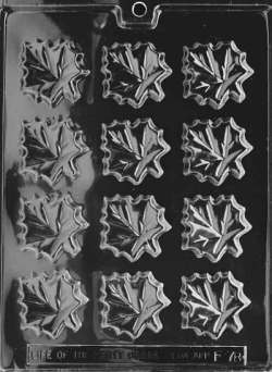 Maple Leaves Chocolate Mold LARGE