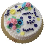 Cake Decorating for Kids - Fondant Flower Cake - May 9, 2018