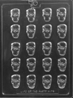 Bite Size Skulls Chocolate Mold