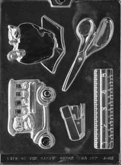 Teachers Kit Chocolate Mold LARGE