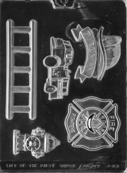 Firefighter Kit Chocolate Mold LARGE