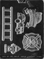 Firefighter Kit Chocolate Mold THUMBNAIL