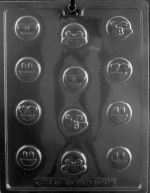 Bite-Size Emojis Chocolate Mold