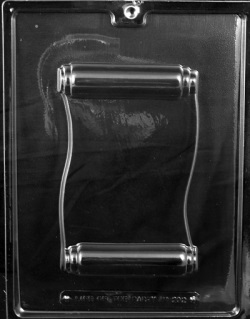 Scroll Chocolate Mold LARGE