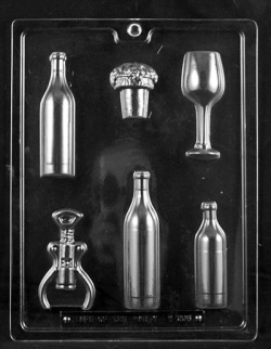 Wine Kit Chocolate Mold LARGE