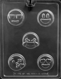 Emoji Cookie Chocolate Mold LARGE