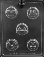Emoji Cookie Chocolate Mold THUMBNAIL