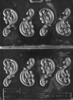 Filigree Chocolate Mold THUMBNAIL