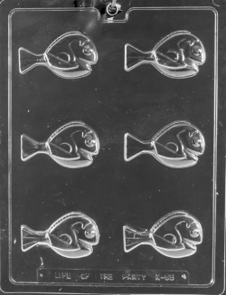 Blue Tang Fish Chocolate Mold