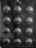 Small Shells Chocolate Mold